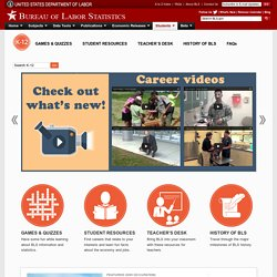 Career Information Home Page
