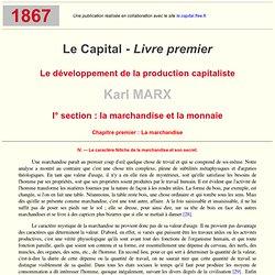 K. Marx - Le Capital Livre I : I.4