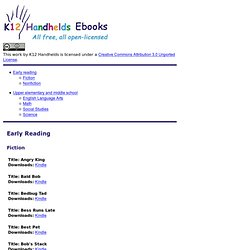 K12 Open Ed - ebooks