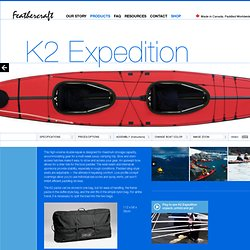 K2 Expedition » Feathercraft
