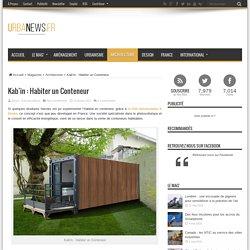 Kab'in : Habiter un Conteneur – UrbaNews