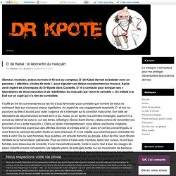 D' de Kabal : le laborantin du masculin - Dr Kpote