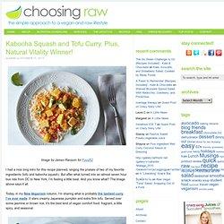 Kabocha Squash & Tofu Curry