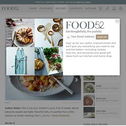 Kabocha Squash and Tofu Curry Recipe on Food52