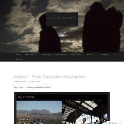 Kaboul – Paris, l'odyssée sans papiers