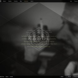 Kabul Portraits_interactive doc