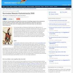 Nominaties Meester Kackadorisprijs 2008
