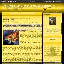 Kadhafi a osé défier Américains et Européens : Il le paie