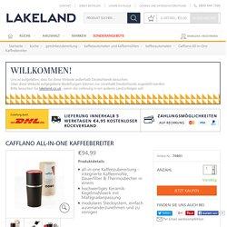 Cafflano All-in-One Kaffeebereiter in kaffeeautomaten bei Lakeland Deutschland