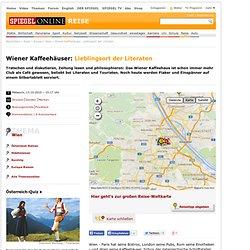 Wiener Kaffeehäuser: Lieblingsort der Literaten