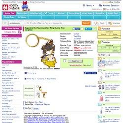 Kagamine Ren Tsummare Key Ring (Anime Toy)