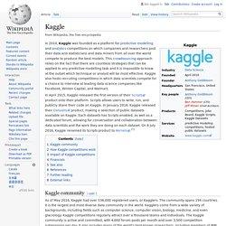 Kaggle - Wikipedia