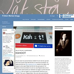 Fröken Marias blogg