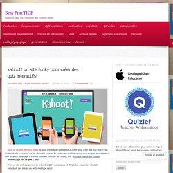 kahoot! un site funky pour créer des quiz interactifs!