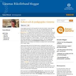 Kahoot och de pedagogiska vinsterna - Ivana Eklund