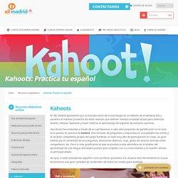 Kahoots: Practica tu español