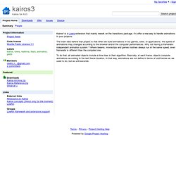 kairos3 - Google Code