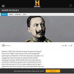 Kaiser Wilhelm II - Homework week 1 CHALLENGING