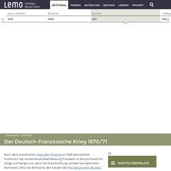LeMOKapitel-Kaiserreich-Das Reich-Deutsch-Französischer Krieg 1870/71