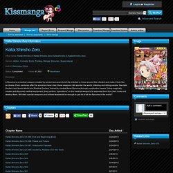 Read manga Kaitai Shinsho Zero Online
