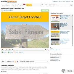Kaizen TargetFootball - Sabkifitness.Com