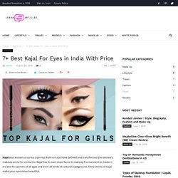 Best Kajal For Eyes in India With Price