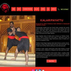 Kalaripayattu Training Center in Indirapuram, Vaishali