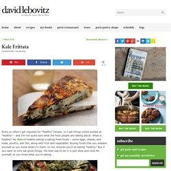 Kale Frittata - David Lebovitz