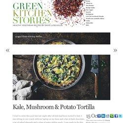 Kale, Mushroom & Potato Tortilla