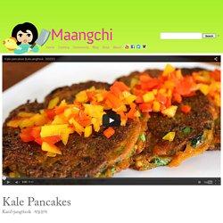 Kale Pancakes recipe