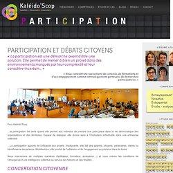 Participation et débats citoyens