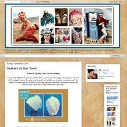 Kaleidoscope Art&Gifts: Soakin It Up Hair Towel
