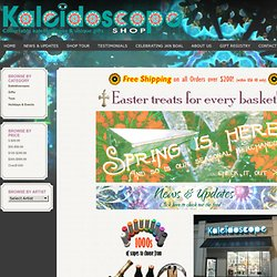 Kaleidoscope Shop - featuring kaleidoscopes and unique gifts