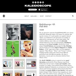 Shop Kaleidoscope #25Fall 2015