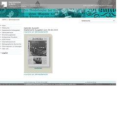 Digitalisierte Ausgaben zum 29.06.1919 (ZEFYS)