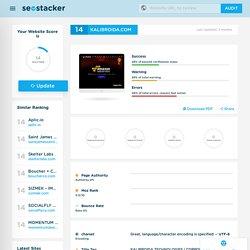 Kalibroida.com - SEO Checker - Website Review