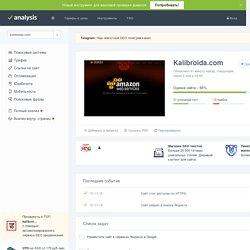 Анализ сайта kalibroida.com