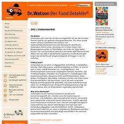 Dr. Watson - der Food Detektiv