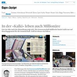 In der «Kalki» leben auch Millionäre - News Zürich: Stadt Zürich
