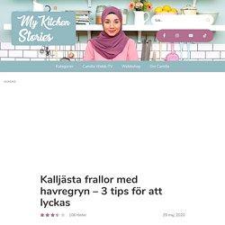 Kalljästa frallor med havregryn - 3 tips för att lyckas - My Kitchen Stories