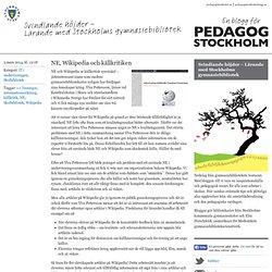 Svindlande höjder - Lärande med Stockholms g...