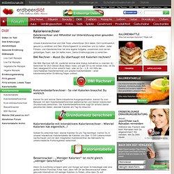 Kalorienrechner: Kostenlose Rechner zur Unterstützung Deiner Diät
