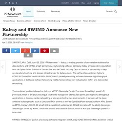 Kalray and 6WIND Announce New Partnership