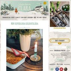 Min supergoda kålrotslåda - Claras jul, Claras recept, Julmat - UnderbaraClara