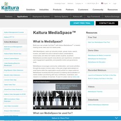 MediaSpace Video Portal