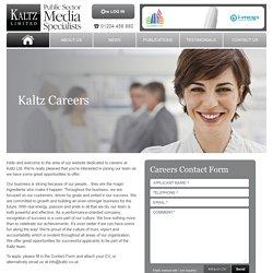 Kaltz - Careers