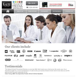 Kaltz - What have our clients said about us?