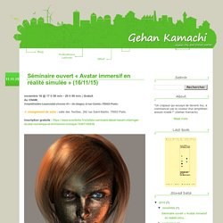 Gehan Kamachi - Digital city and virtual worlds