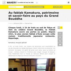 Fablab Kamakura, patrimoine & savoir-faire au Japon