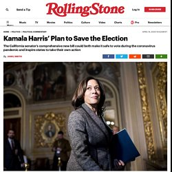 4/16/20: Harris' Plan to Save the 2020 Election